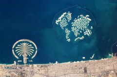 Dubai's man-made islands: 'The World' and 'The Palm'
