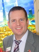 Ian Scott became Director of the UK Dubai Tourism and Commerce Board in 2007